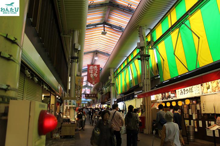 近江町市場内