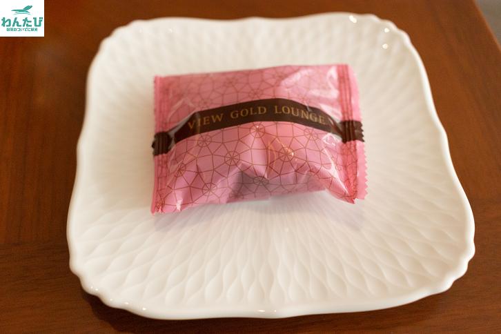 ビューゴールドラウンジお菓子