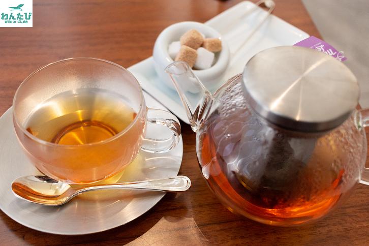 ビューゴールドラウンジ紅茶