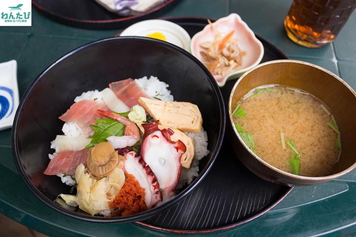 500円海鮮丼