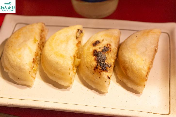 天神の屋台「喜柳」の餃子