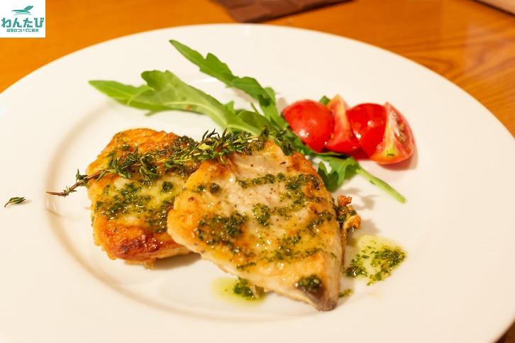 south白身魚の香草オーブン焼き