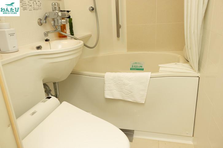 アパホテル&リゾート東京ベイ幕張ウエストウィングのバスルーム