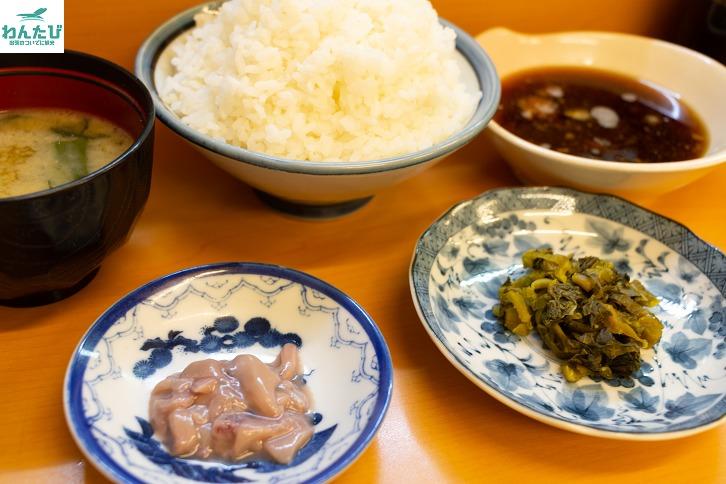 天ぷらだるま定食セット