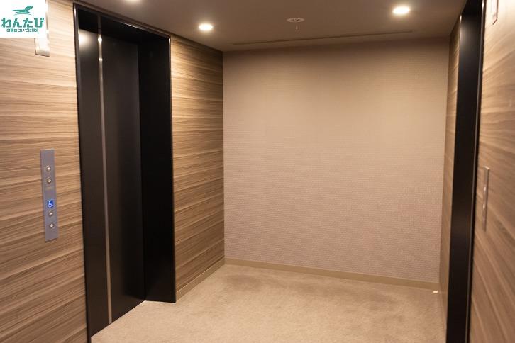 広島ワシントンホテルエレベーターホール