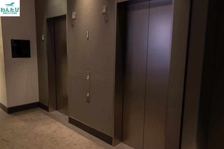 ホテルリソル上野エレベーター