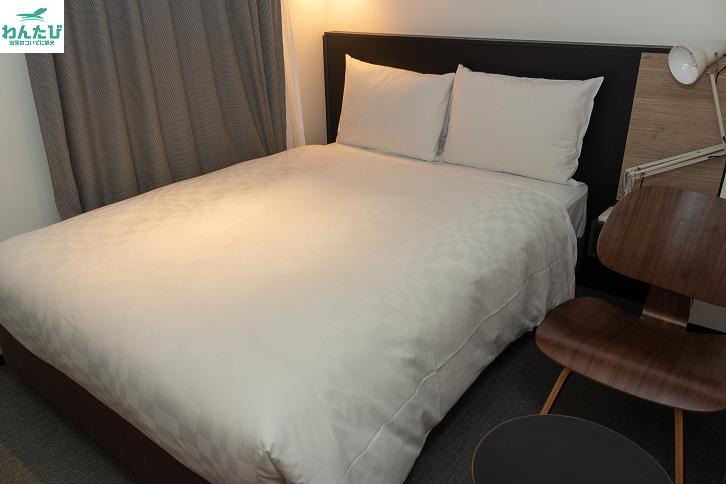 ホテルリソル上野のベッド