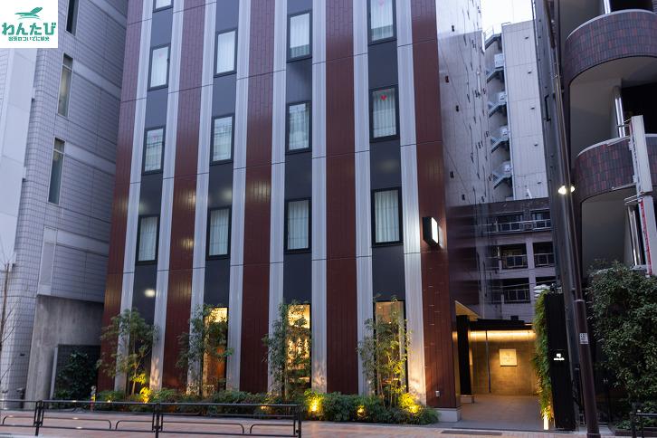 ホテルリソル上野の外観