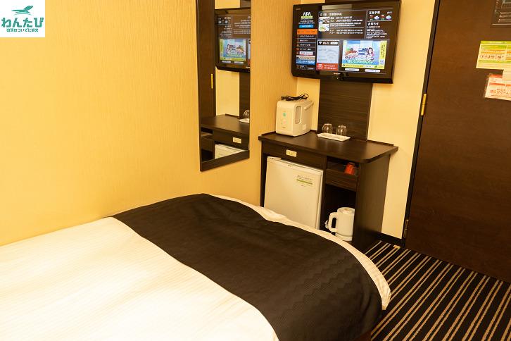 アパホテルの客室