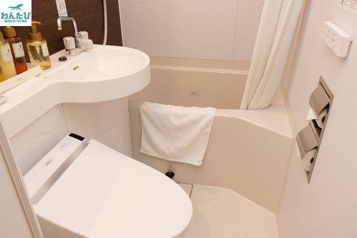 ホテルアストンプラザ広島海田市駅前バスルーム