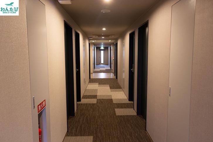 ホテルアストンプラザ広島海田市駅前客室階