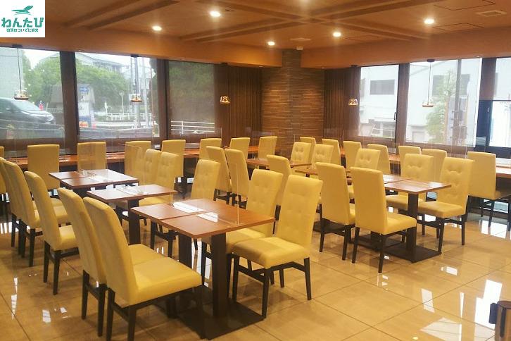 ホテルアストンプラザ広島海田市駅前の朝食会場