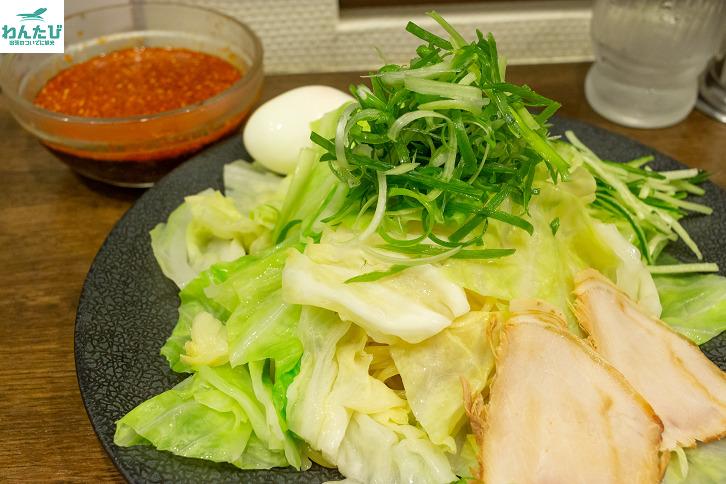 辛部のつけ麺